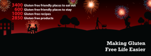 LiveGlutenFree - Guy Fawkes Night Facebook cover page