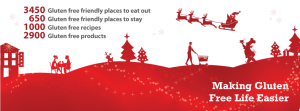 LiveGlutenFree - Christmas 2012 Facebook cover page