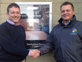 Stephen Gorton (Fraktul) and Garry Cumming (Perthshire Flooring)